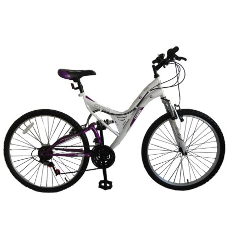 "Save 20% on this 26"" Ivy Dual Suspension Bike"
