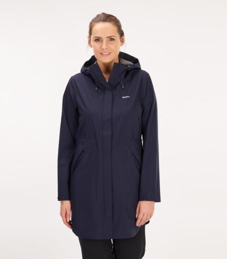 NEW ARRIVALS - Women's Vapour Trail Long Jacket: £159.00