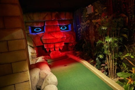 Visit 'The Lost City' Crazy Golf with the family for just £25!