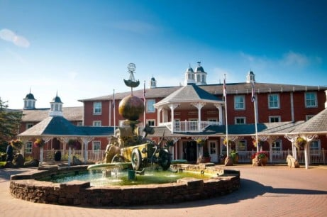 Escape the winter blues from £150 per family at the Alton Towers Hotel!