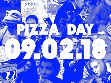 It's our favorite day of the year: PIZZA DAY!