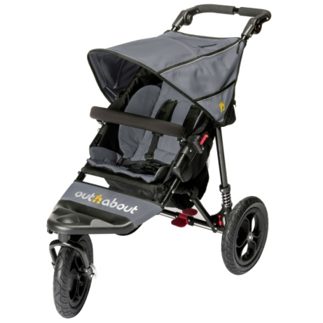 SAVE 34% on the OUT N ABOUT Nipper Single Buggy V4 with Rain Cover!