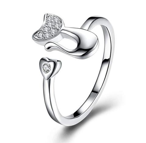 WIN - Ladies Adjustable Cat Ring