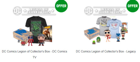 Funko Mystery Box - Limited Edition DC Legion of Collector's - SAVE 20%