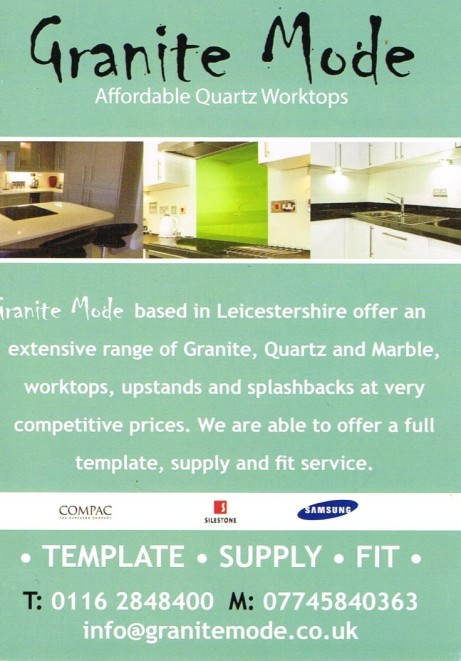 Special offer on Granite & Quartz throughout December and January!