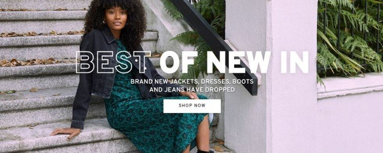 SHOP NEW IN FASHION AT TOPSHOP