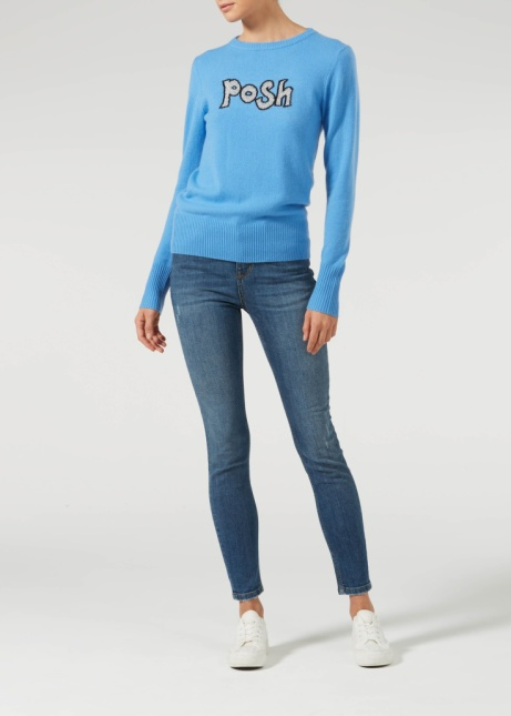 SAVE £107.50 - Donna Ida Posh + Skinny Cashmere Knit – That's How I Roll!
