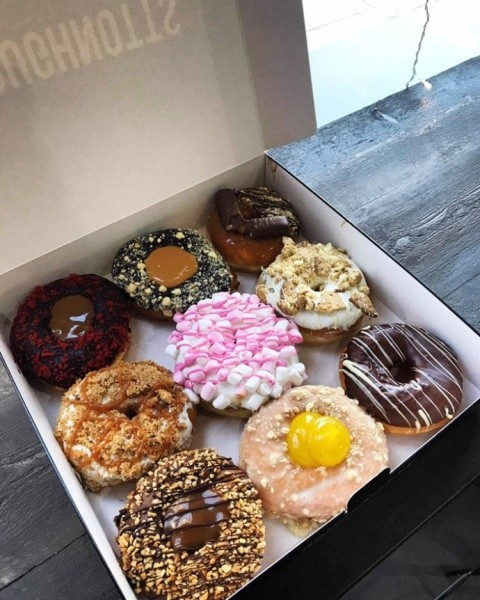 You made it to half way through the week! Celebrate with a box of D's 🍩