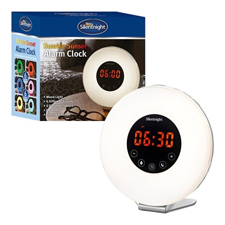 20% OFF - Silentnight Dawn Alarm Clock!