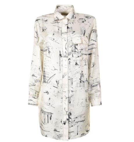 £130 OFF this Women's BURBERRY LONDON Chava Blouse!