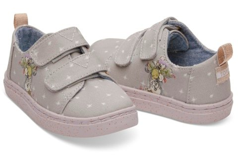 Disney X TOMS Seven Dwarfs Printed Canvas Tiny TOMS Lenny Sneakers - £36.00! (VEGAN)