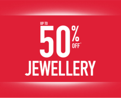 Up to 50% OFF Jewelery