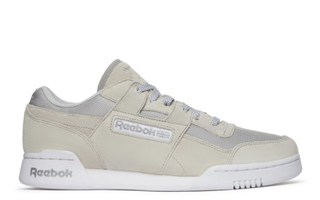 SAVE £60.00 - Reebok Workout Lo Plus Journal Standard in Silver/Grey!