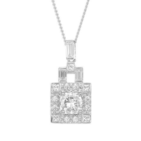 Perfect for Valentines Day, the ODETTE PENDANT - £75.00!