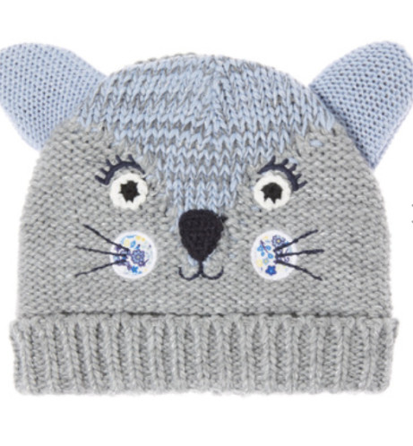 Save £3 on this Grey Novelty Cat Beanie