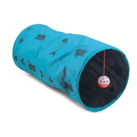 Ancol Cat Play Tunnel Blue 50cm - £7.02!