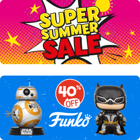 The Super Summer Sale has arrived at The Entertainer!