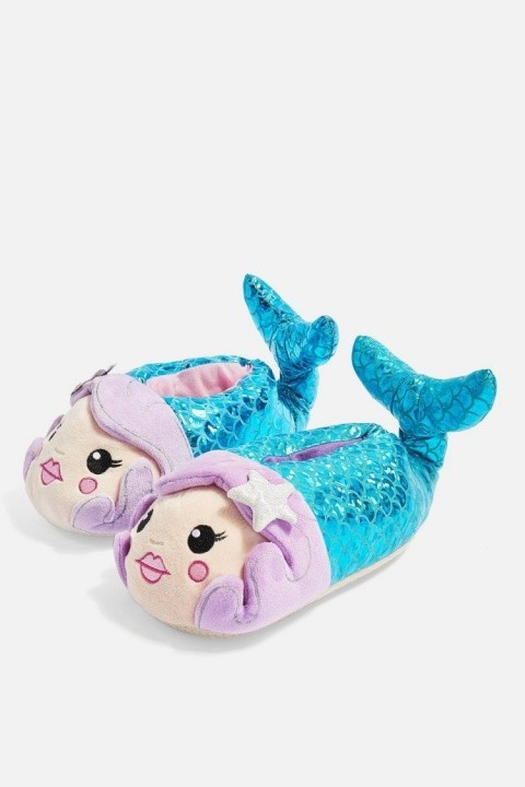 CHRISTMAS GIFT IDEAS - Mermaid Slippers £16.00!