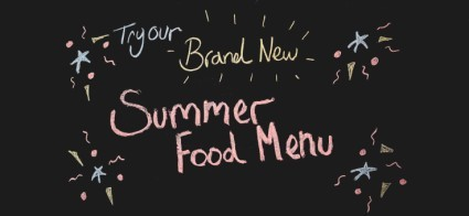 Our Summer Menu....