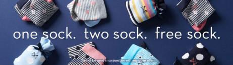 3 for 2 on all Socks