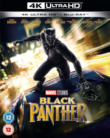 Black Panther now in UHD 4K on Blu-ray GET 32% OFF!