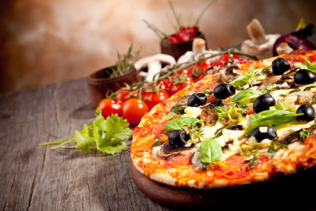Celebrate National Pizza Day with our exquisite traditional pizza!