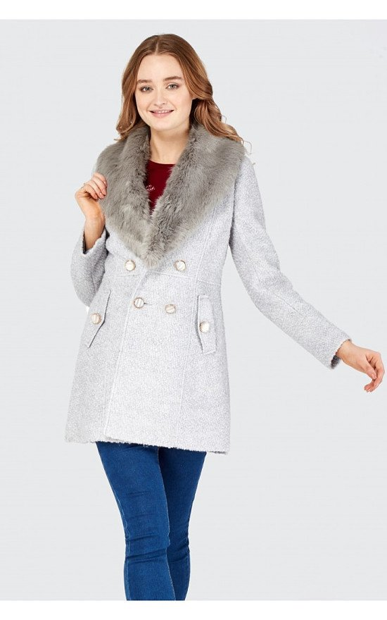 Save £15 on this Double Breasted Boucle Formal Coat