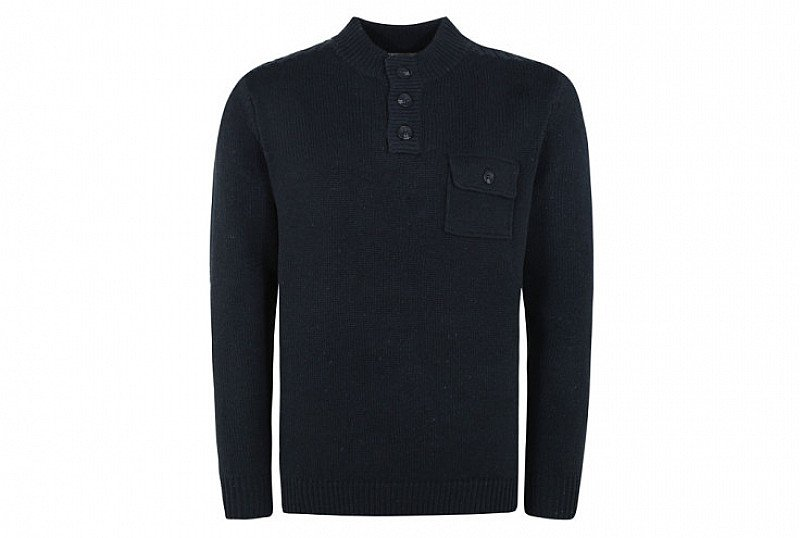 Save £10 on this Button Neck Jumper