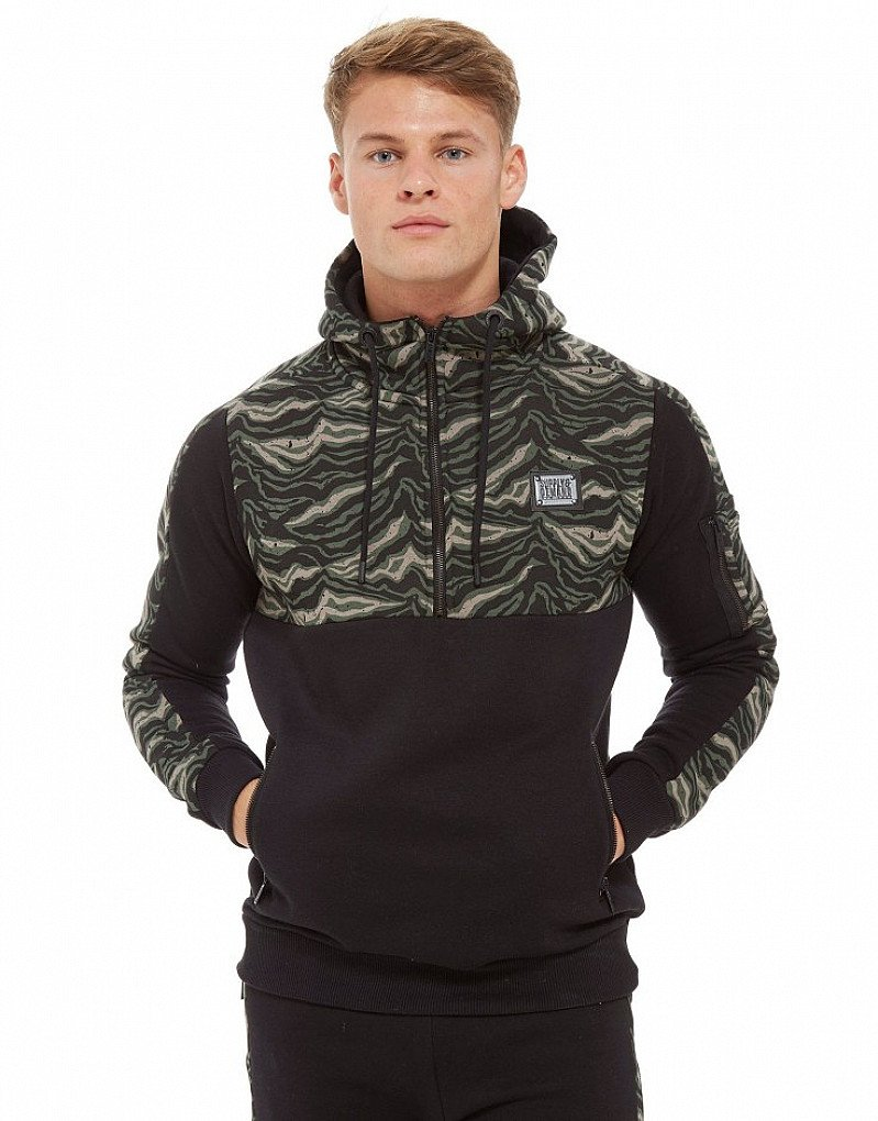 Save 37% on these Supply & Demand Tiger Camo 1/2 Zip Hoodie