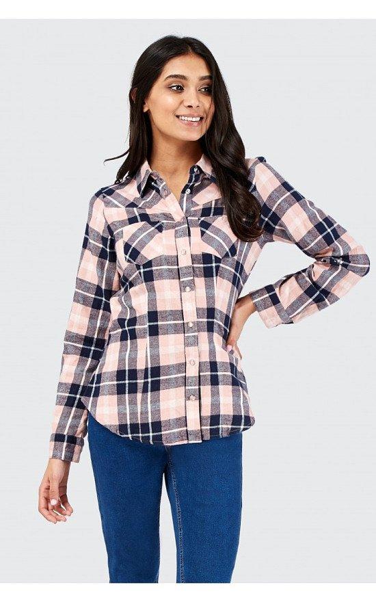 Save £3 on this Pink Check Shirt