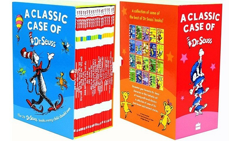 Save £47.92 on a Collection of 20 Classic Dr. Seuss Books