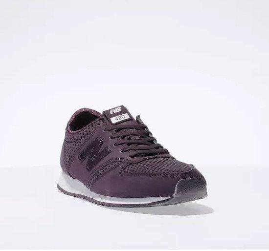 Save 49% on these new balance dark purple 420 trainers