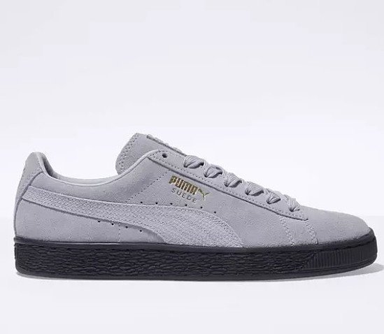 Save 57% on these Puma pale lilac suede animal trainers