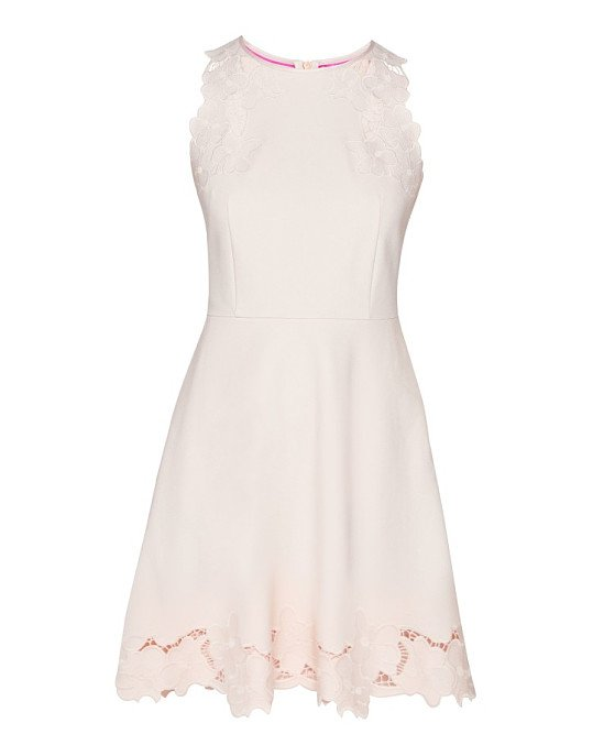 Save £100 on this TED BAKER Emmona Embroidered Skater Dress