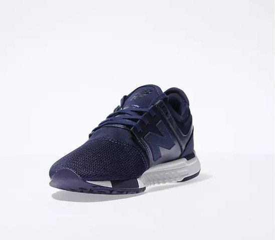 Save 50% on these new balance navy & white 247 classic trainers