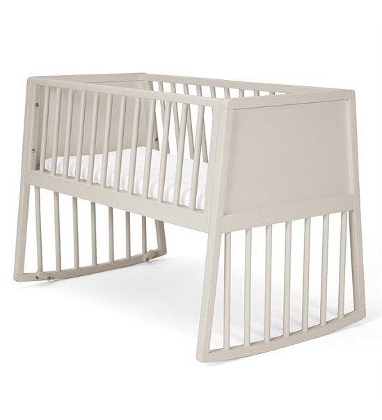 Mamas & Papas Rocking Crib - Pebble Grey: Save £20.00!