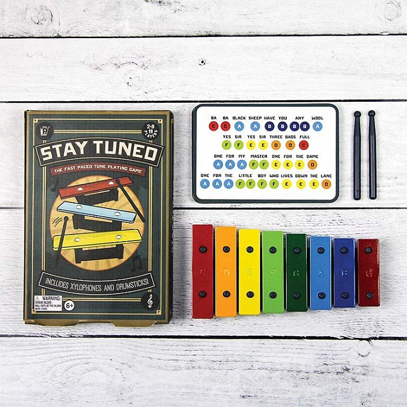 Save £7.50 on STAY TUNED The Musical Game - Test your musical abilities!