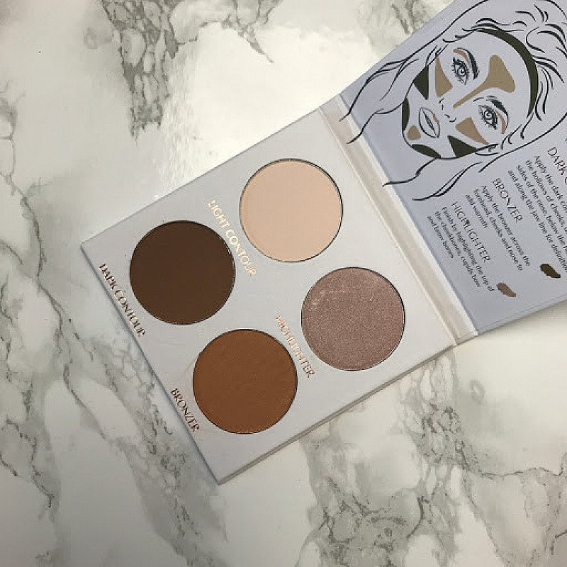 George 4 Shade Contour helps sculpt your face for a more defined makeup look - Now just £5.00!