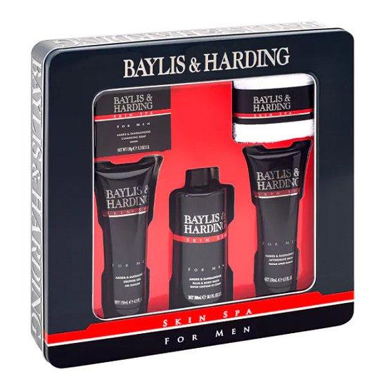 Baylis & Harding Men's Skin Spa For Men 5 Piece Tin £6.99!