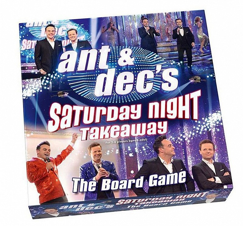 Save £8 on Ant & Dec's Saturday Night Takeaway Board Game