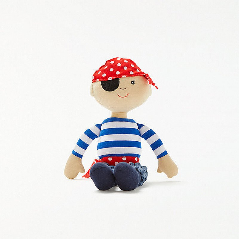 Save 50% on this Pirate Rag Doll