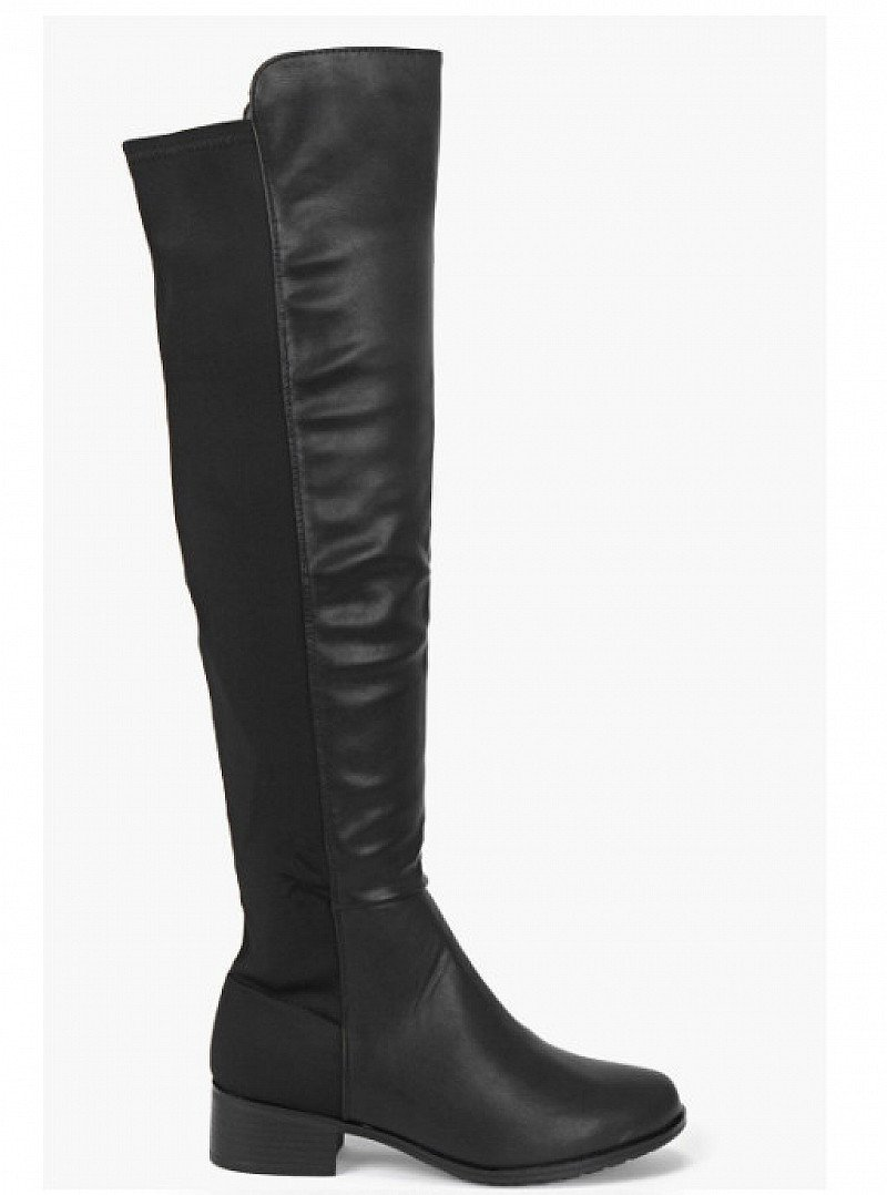 Lucia Elastic Back Over Knee Boot 57% OFF!