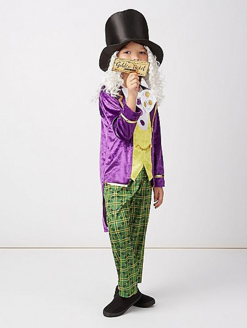 World Book Day - Willy Wonka Outfit - £15
