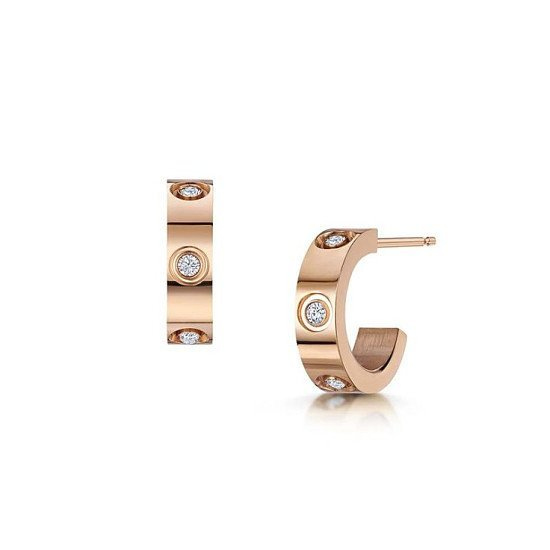 These Aimee Rose Gold Earrings would be a perfect Mother's Day Gift
