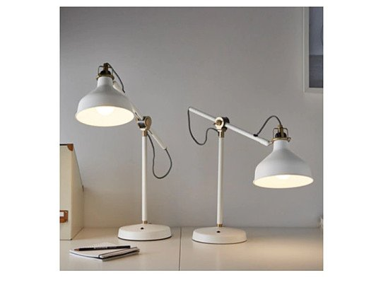Perfect Home Office Accessories from IKEA - Work lamp RANARP Off-white £29.00!