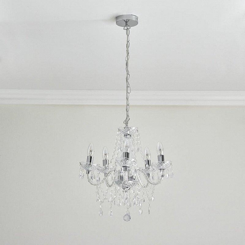 Shop Lighting - Wilko Marie Therese Chandelier £45.00!