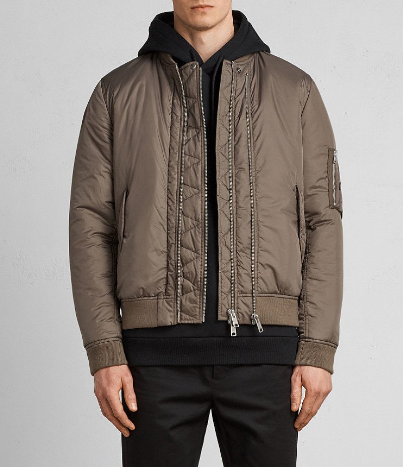 20% OFF MEN'S COATS - LOMBARD BOMBER JACKET £178.00