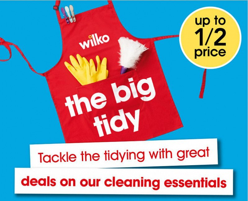 SAVE UP TO HALF PRICE on Cleaning Essentials