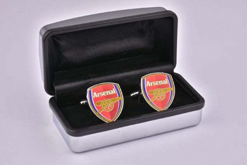 Arsenal FC Official Pewter Cufflinks - Reduced to only £17.49