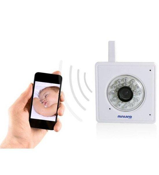 SAVE 48% on Miniland IP Everywhere Video Camera Baby Monitor